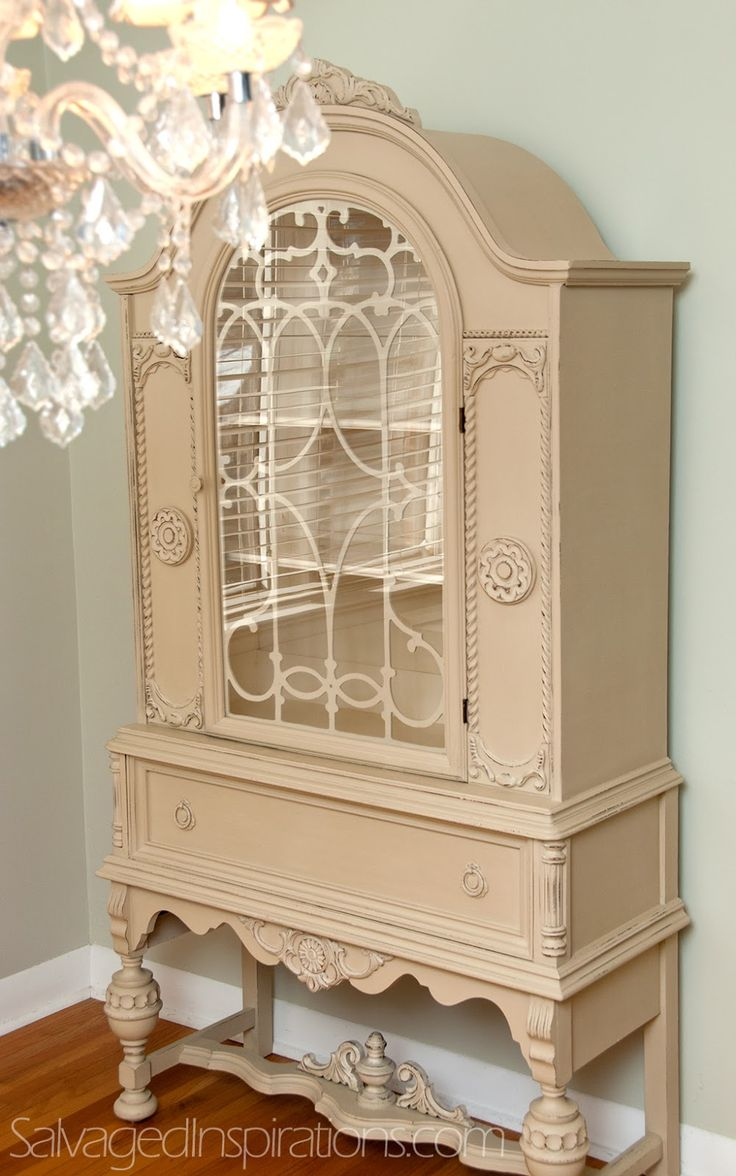 Shabby chic furniture painting ideas - 147 Best China Cabinets Hutches Display Cases Chalk Paint Ideas Images On Pinterest