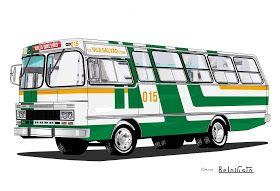 Will.Bus: Caio Bela Vista / Mercedes-Benz LPO 1113 - (SP) Empresa de Ônibus Vila Galvão Ltda. (Década de 80)