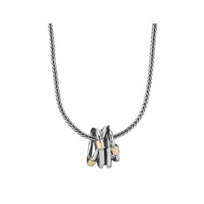 PANDORA | Silver chain, 14k