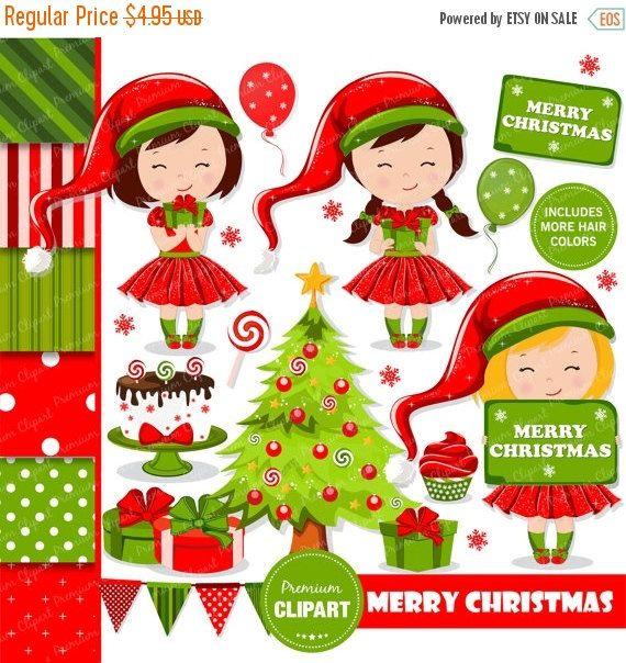 17 bedste idéer til Elf Clipart på Pinterest | Snemand