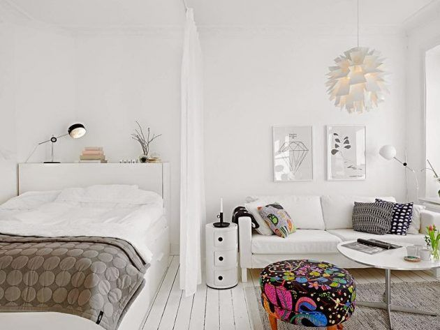 Best 25+ Small apartment bedrooms ideas on Pinterest | Small apartment  decorating, Small living room storage and Small apartment storage