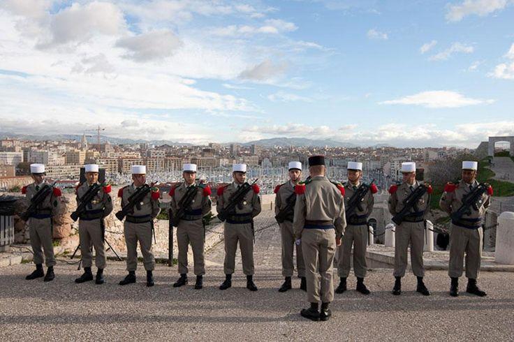 Hommage aux morts d'Afrique du nord