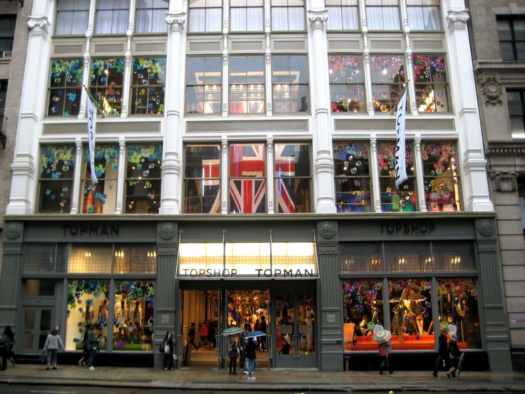 Topshop & Topman-478 Broadway  New York, NY 10013  (212) 966-9555