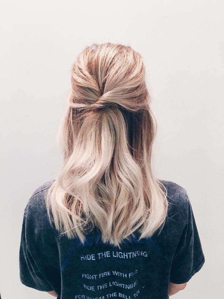 halvt uppsatt hår vanja wikström