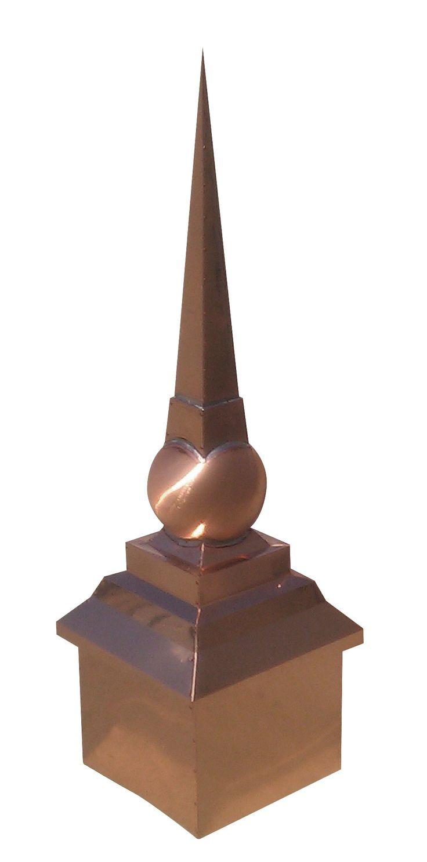 Classic copper roof finial finials pinterest