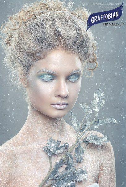 "Образ ""Лед""  Make-Up: Юлия Чопенко  Photo: Галия Желнова Model: Вера Евгеньевна   Работа выполнена косметикой Graftobian HD Make-Up #Graftobian #GraftobianHD #HD #HD_MakeUP #MakeUP #MakeUp_Artist #TopCosmetics #Top_Cosmetics #Beauty #Mua #TopcosmeticsUkraine"