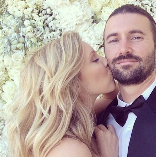 Brandon and Leah Jenner Tumblr// posting in bearded gents cause Brandon is sooo fucking hot!