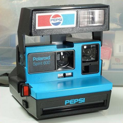 Rare Pepsi Polaroid Spirit 600 Instant Camera