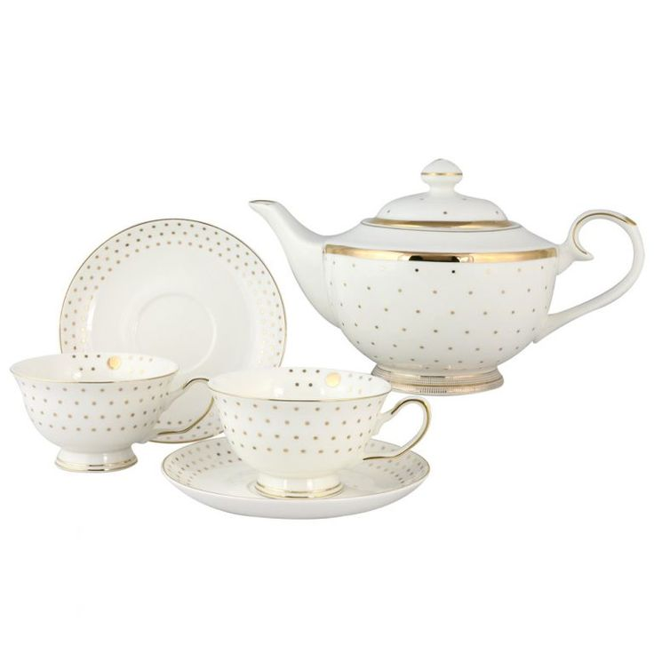 49 best berta hedstrom bone china from england images on for Gold polka dot china