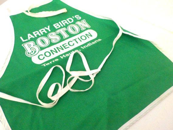Larry Bird Boston Celtics Apron from Larry Birds Boston