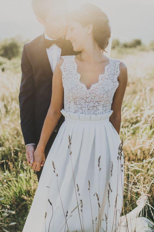 Sebastien Boudot - Un mariage dans le Beaujolais - La mariee aux pieds nus