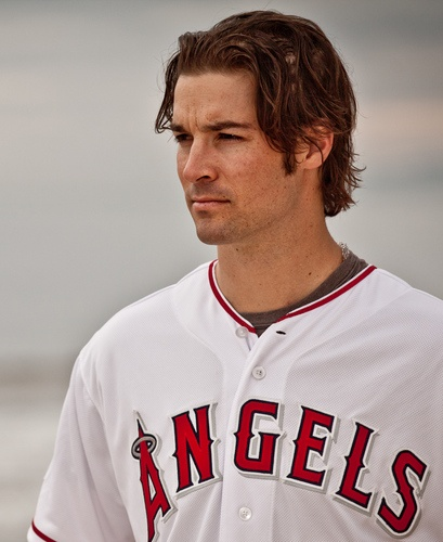 CJ Wilson, now pitching for the Angels!