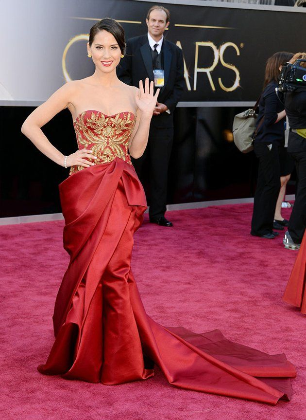 85th Annual Academy Awards - Arrivals: Olivia Munn