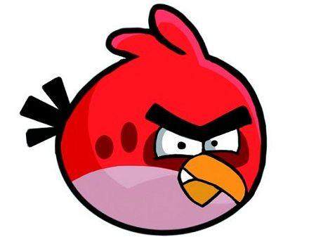 Angry bird emoticon whatsapp angry bird emoticon whatsapp funny sticker pinterest - Angry birds rouge ...