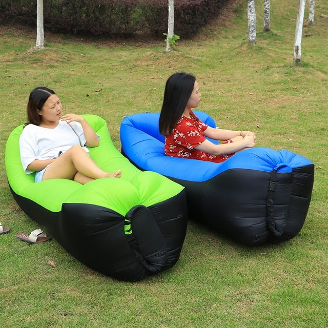 Tremendous Sleeping Bag Camping Equipment Lazy Bag Inflatable Air Sofa Ncnpc Chair Design For Home Ncnpcorg
