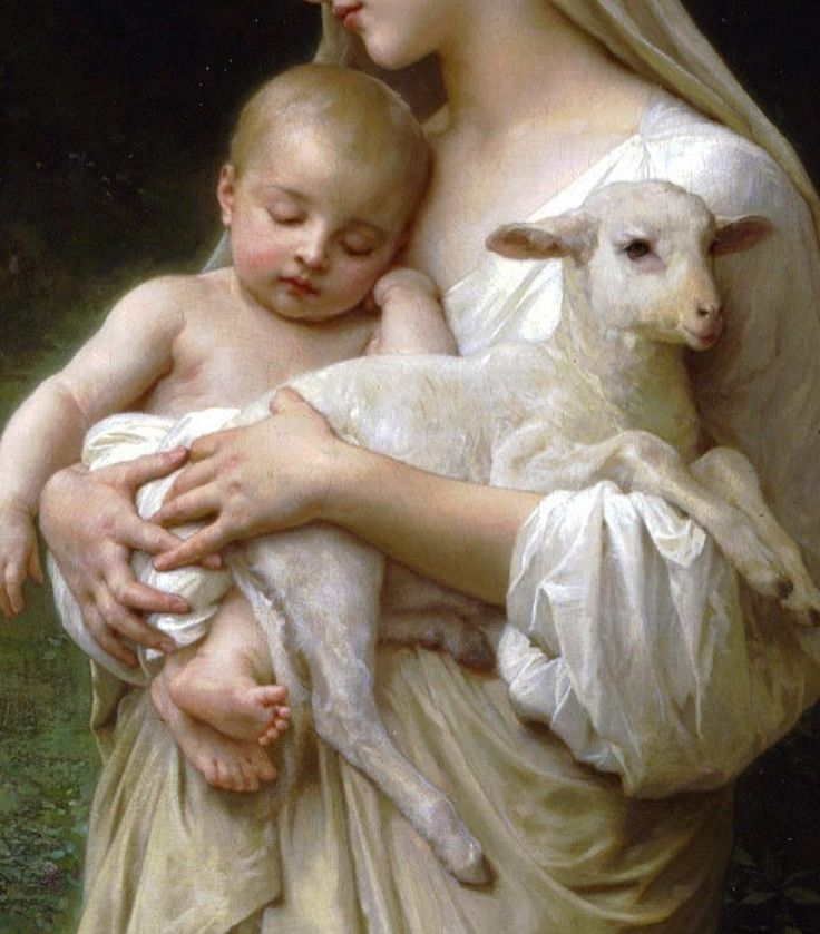 William-Adolphe Bouguereau, L'Innocence, 1893 (detail)