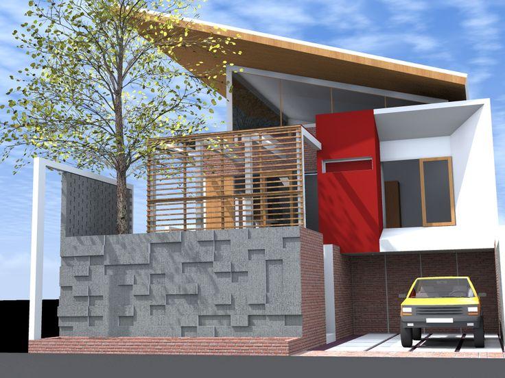 Rumah Tinggal Tropis Ibu Paulina Aziz Pekanbaru