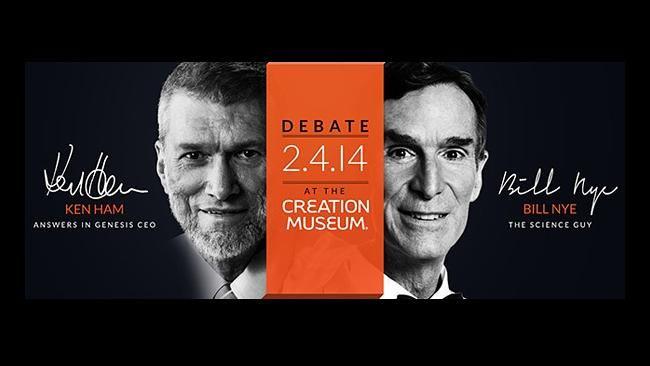 Creationism v Science. Evolution v Divine Intervention. Watch the TV debate between scientist Bill Nye and creationist Ken Ham