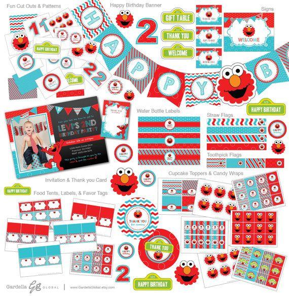 Pinterestteki 25den fazla en iyi Elmo invitations fikri Elmo party