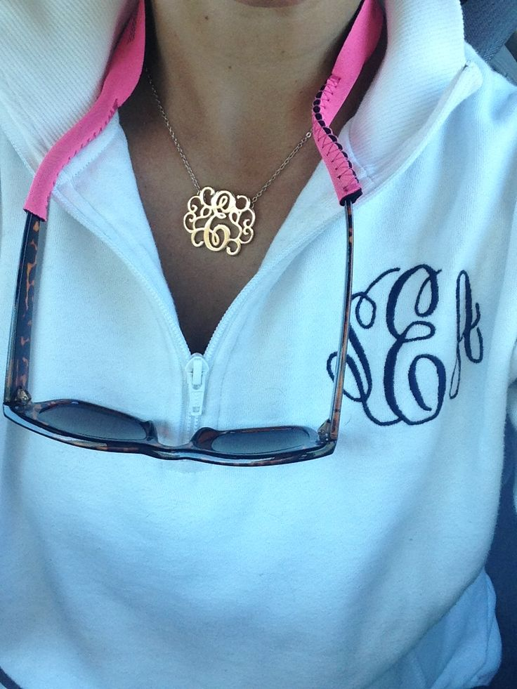 Just click on the picture it takes you to the etsy site!! I'd want grey with burnt orange monogram in the first monogram font option size small!