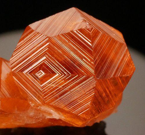 Hessionite Garnets - Jeffrey mine, Québec, Canada