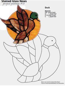 Free SGN Pattern #13 Mallard Duck