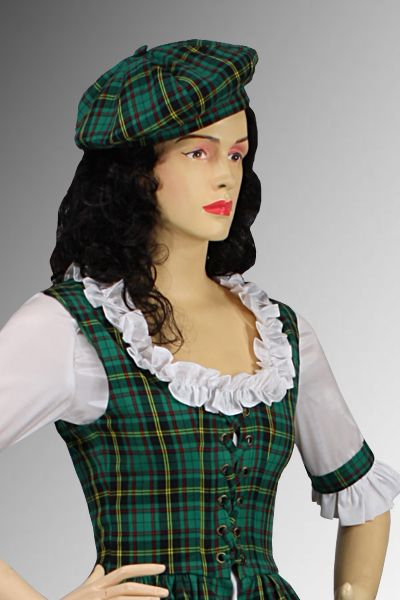 Scottish Hat No. 11 - 28.00 USD - Medieval and Renaissance Clothing, Handmade by Your Dressmaker