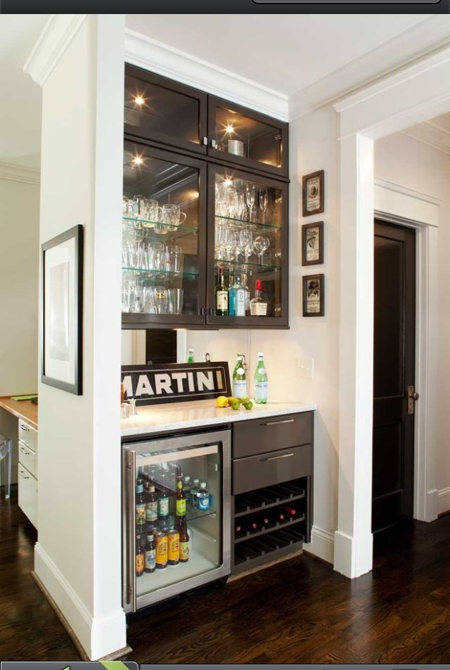 Home bar decoration. this is more like a simple part that we can store wines, beers along with other beverages like seltzers and stuffs