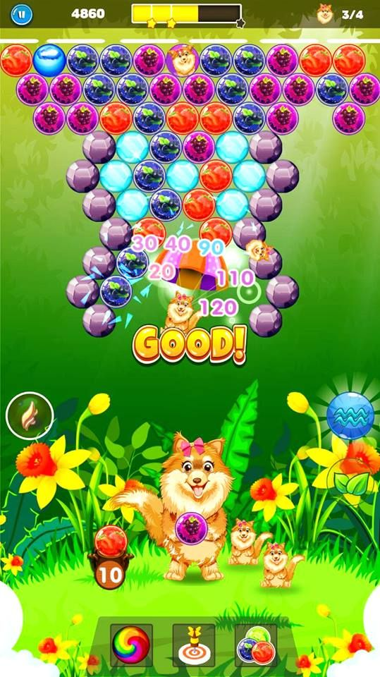 You will find new interesting game features a cute dog theme, making it a Doggy Bubble Rescue and it enhance challenging gameplay. Play for Free the best #puzzle in 2018 #Doggy #bubble #shooter #candy #witch