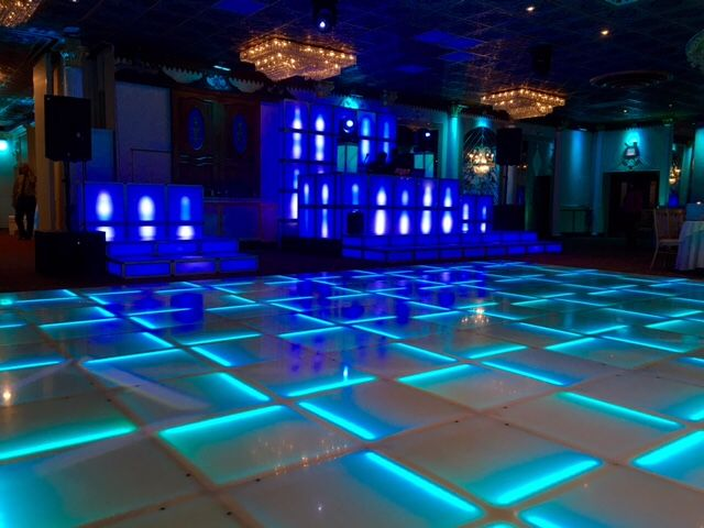 LED Lighted Dance Floor Flat... Sound Sensitive and Ultimate DJ Booth