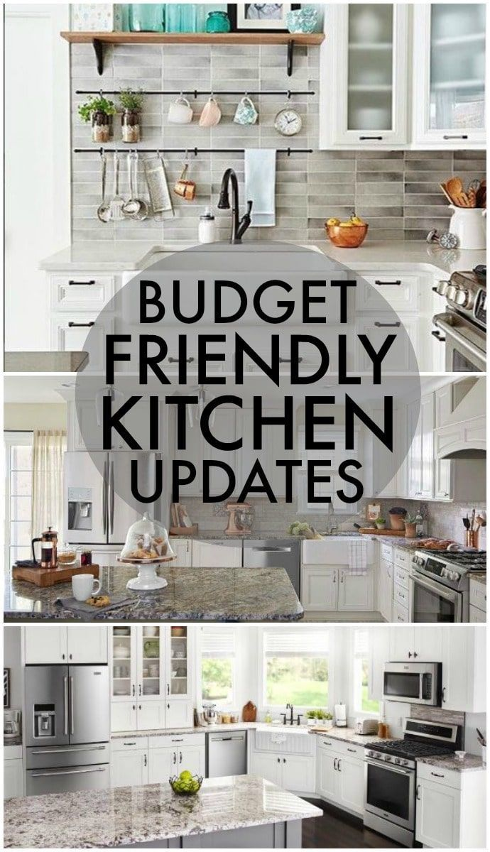 Updating your kitchen is totally possible without going broke. Here are Five Budget Friendly Kitchen Updates that will make a huge difference in your house while being affordable and without leaving you with a giant renovation. | www.persnicketyplates.com #ad #MyKitchenVision @lowes