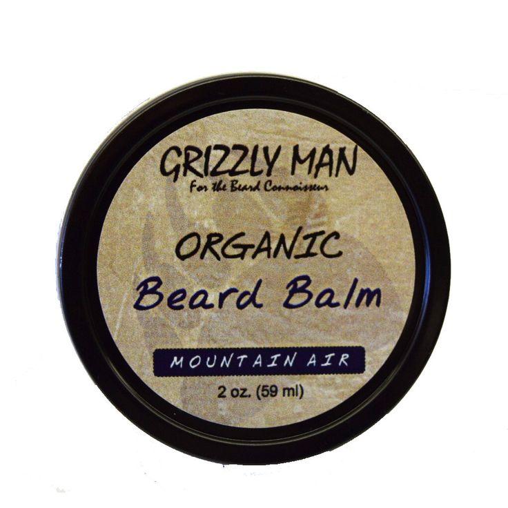 Organic Beard Balm -Vegan, Paleo, Gluten Free, Cruelty Free