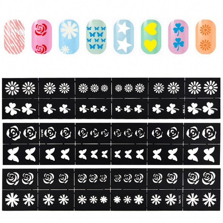 diy nail stickers printer
