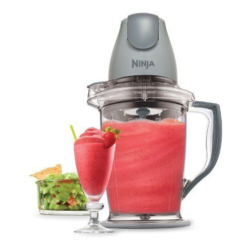 Put the power in the palm of your hand with the multi-talented Food Blender Chopper Processor that crushes ice into snow in seconds, blends frozen fruits into creamy smoothies, and chops fresh ingredients evenly! Mince, dice, chop, blend, and puree for consistent results in the 16 oz (2 cup) chopper bowl and achieve perfect frozen blending in the 48 oz (6 cup) pitcher.