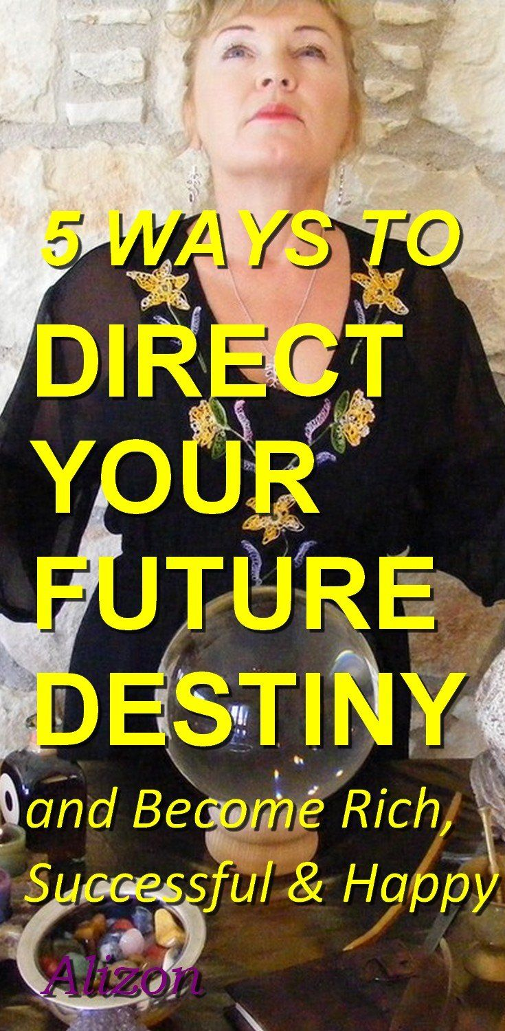 5 WAYS TO DIRECT YOUR FUTURE DESTINY & Become Rich, Successful & Happy with the Law of Attraction. More and more people are turning to the power of Magic to help them increase their good luck, good fortune and wealth. Discover how a Spell for attracting money can change your bad luck to good luck. Wealth creation, making money and becoming rich is within your grasp. Click to discover more http://www.alizons-psychic-secrets.com/wealth-spells.html