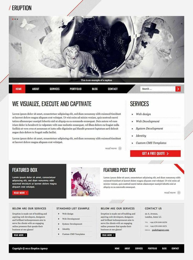 eruption by guitarsimo80 d37f7eq Web Interface Showcase of Inspiration
