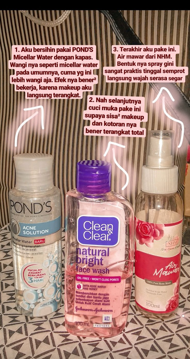 Ponds micellar water (acne solution) Clean&clear face