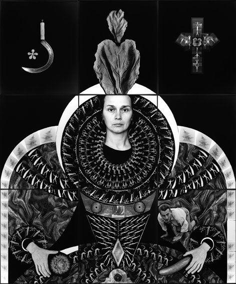 """Zofia Kulik, """"Wspaniałość siebie I"""", 1997"""