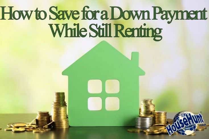 How to Save for a Down Payment While Still Renting - If you live in an apartment, condo, or rental home, you know that saving for a down payment can be difficult when constantly paying rent every month. However, there are lots of ways that you can save. The first thing you need to do is change your mindset. You can save for a down payment!