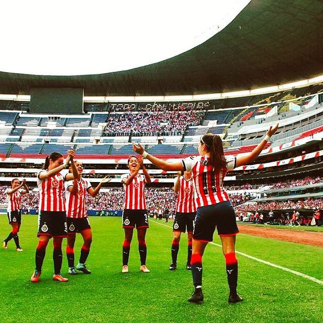 Chivas femenil #futbolfemenino