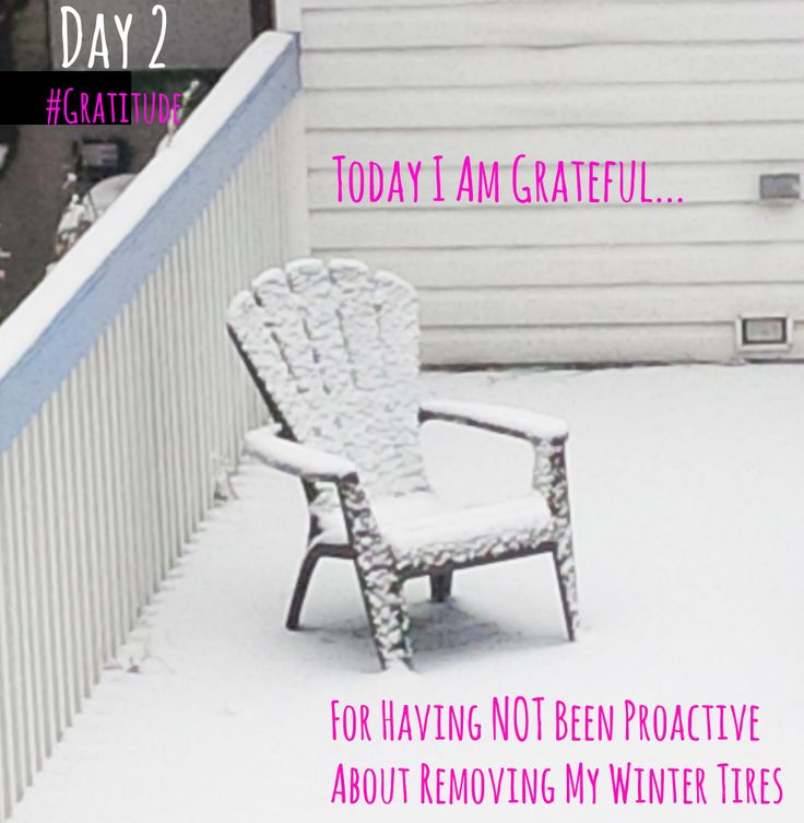 SNOW in SPRING! When it's below zero and snowing in April it really does help to be grateful for the little things :) #BeGrateful #BeMindSavvy