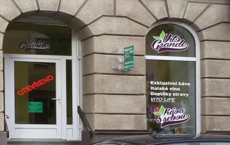 Prodejna exkluzivní kávy v Plzni