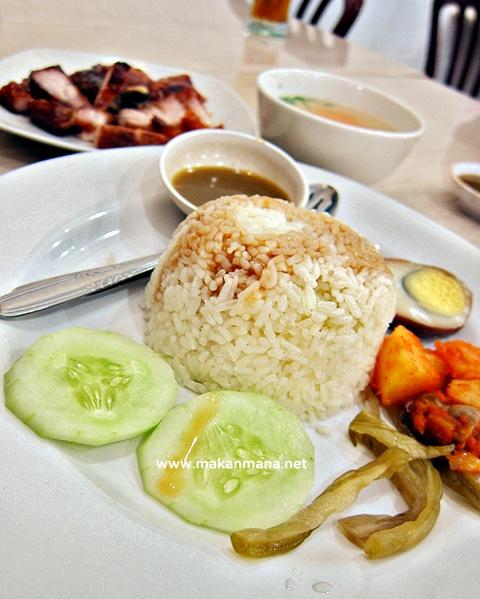 Nasi ayam, Nasi Tim Aman, Medan