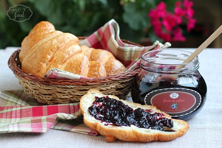 Blueberry jam - Gem de afine
