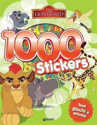 Prezzi e Sconti: #Lion guard. 1000 stickers. con adesivi New  ad Euro 6.71 in #Disney libri #Libri