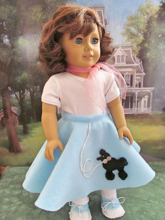 Poodle Skirt Costume Halloween Dress Up By Fashioned4you