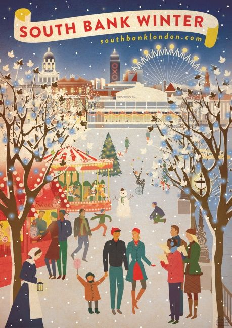 South Bank London Winter Guide - What's On and Events November 2014 - February…
