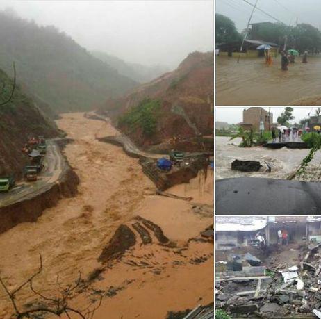 prayforpacitan bencana longsor banjir di pacitan