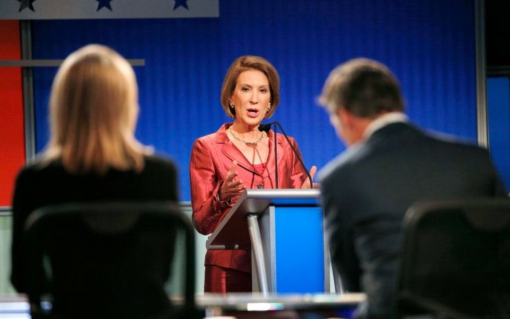 Carly Fiorina Dominates First GOP Debate - The Daily Beast