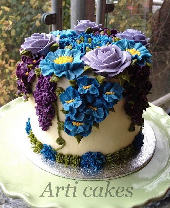All buttercream cake